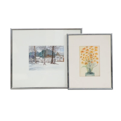 Alice Weidenbusch Watercolor Paintings