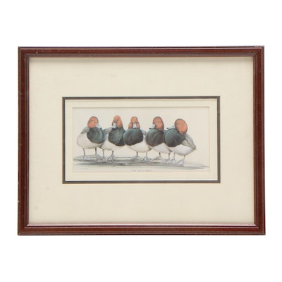 """Offset Lithograph after Art Lamay """"The Bully Boys"""""""