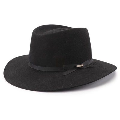 """The Gun Club"" by Stetson Black Cowboy Hat"