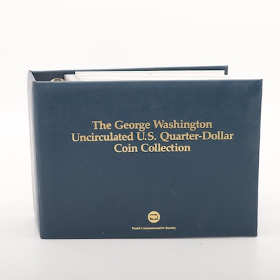 The George Washington Uncirculated U.S. Quarter-Dollar Coin Collection