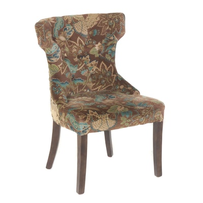 Pier 1 Button Tufted Accent Chair
