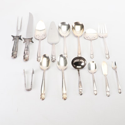 "International Silver ""Danish Princess"" Silver Plated Serveware"