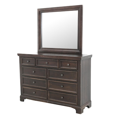 Vaughn-Bassett Chest of Drawers with Mirror