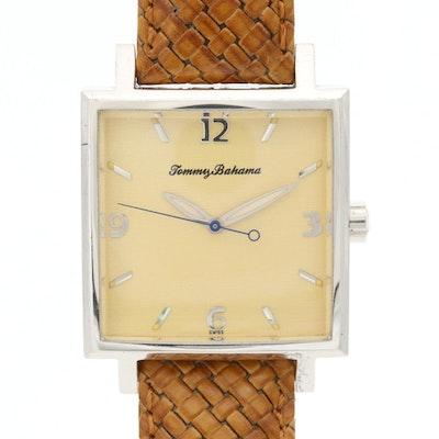 Tommy Bahama Sterling Silver Quartz Wristwatch
