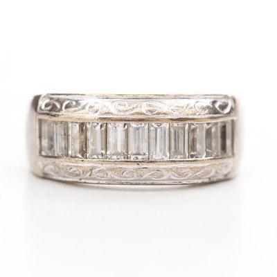 Tacori Sterling Silver Cubic Zirconia Ring
