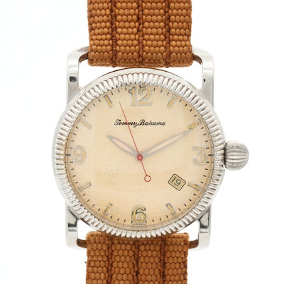 Tommy Bahama Sterling Silver and Stainless Steel Quartz Wristwatches