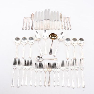 "Gorham ""Vanity Fair"" and Other Silver-Plate Flatware and Serving Utensils"