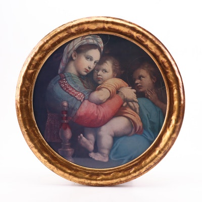 Offset Lithograph after Raphael