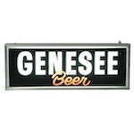 Genesee Beer Illuminated Bar Sign, Vintage