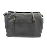 Dooney and Bourke Black Pebbled All-Weather Leather Shoulder Bag