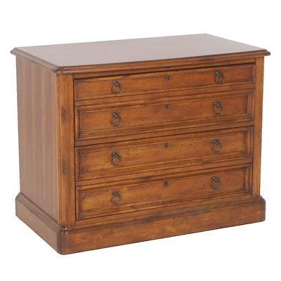 Sligh Furniture Two Drawer Locking Wooden File Cabinet