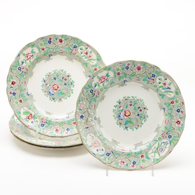 "Minton ""Indian Curl"" Dinnerware, 1820-35"
