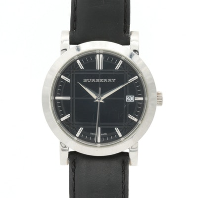 Burberry Heritage Stainless Steel Quartz Wristwatch