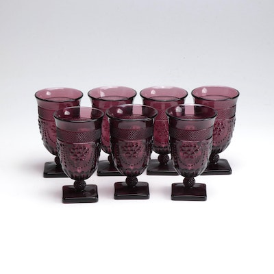 "Imperial Glass ""Chroma Amethyst"" Ice Tea Goblets"