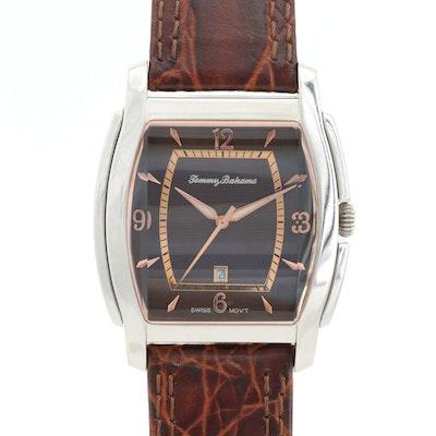 Tommy Bahama Stainless Steel Quartz Wristwatch