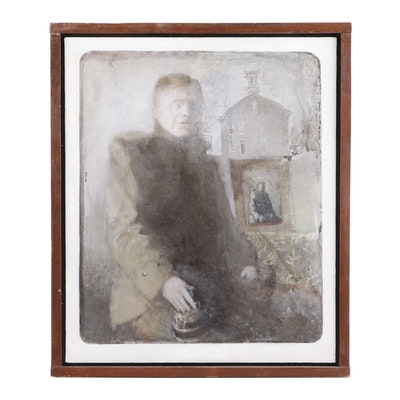 W. Lee Savage Portrait Oil Painting