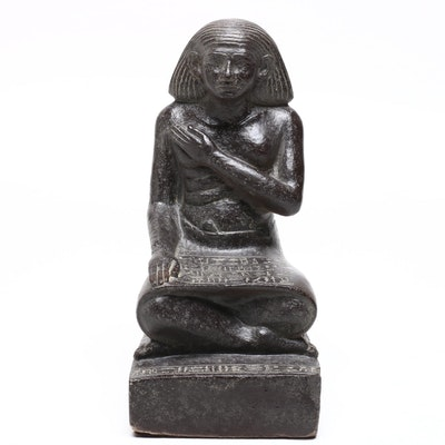 Egyptian Seated King or Pharaoh Statue