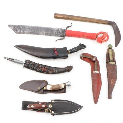 1942 1945 World War Ii Nickel And Knife Set Ebth