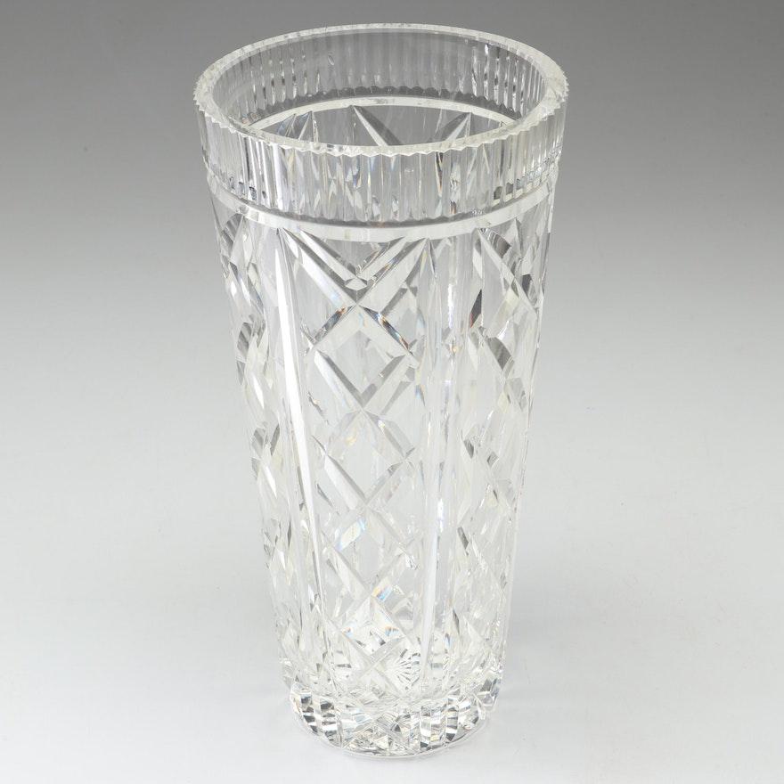 Waterford Crystal Flower Vase