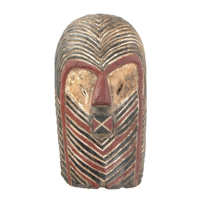 Songye Kifwebe Striated Mask