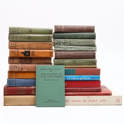 Vintage Hardcover Book Assortment