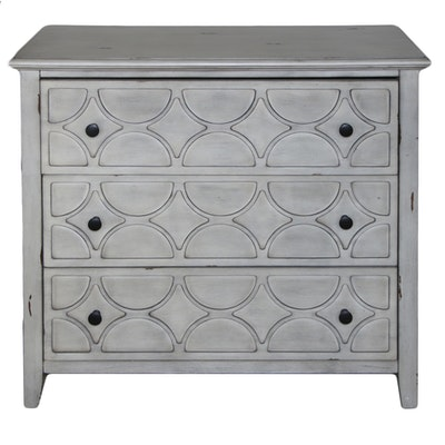 Contemporary Engineered Wood Chest of Drawers