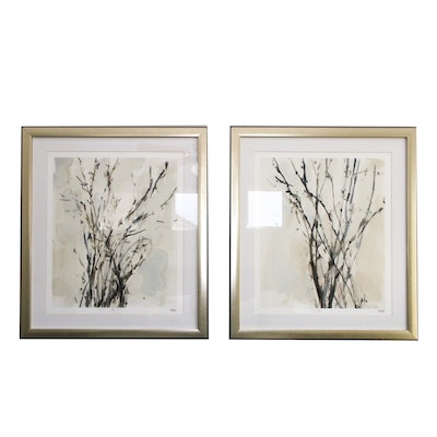 Pair of Framed and Numbered Prints