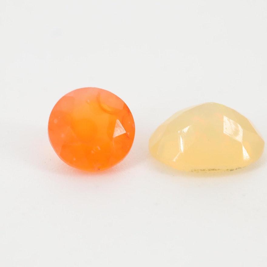 Loose 1.58 CTW Opal Gemstones
