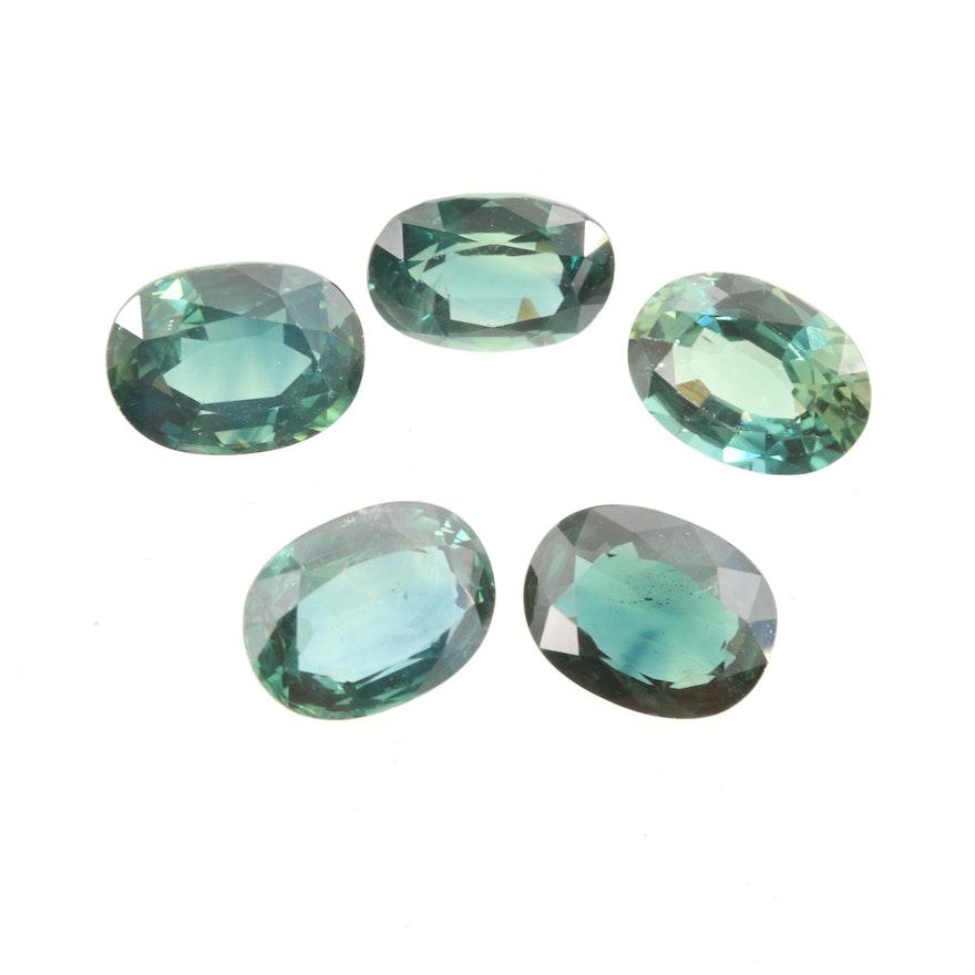 Loose 7.93 CTW Sapphire Gemstones