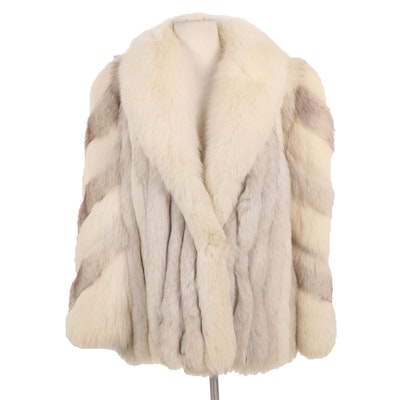 Fox Fur Coat with Shawl Collar from Koslow's