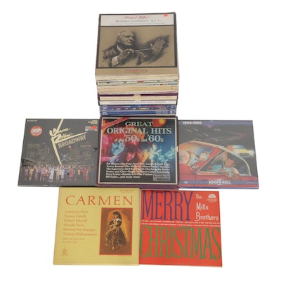 Vinyl Records Featuring Box Sets, Holidays and Soundtracks