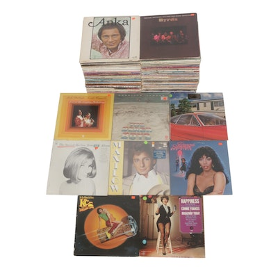 Vinyl Records Featuring Paul Anka, Byrds, Beach Boys, Carpenters and More