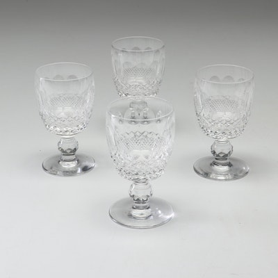 "Waterford Crystal ""Colleen"" Claret Wine Glasses"