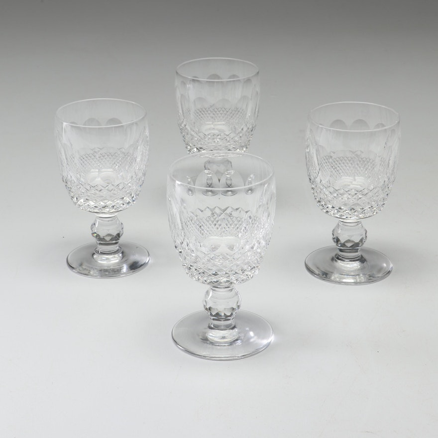 """Waterford Crystal """"Colleen"""" Claret Wine Glasses"""