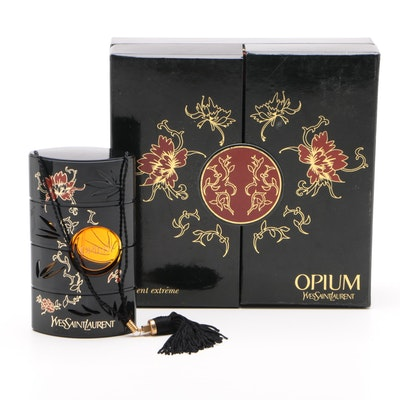 "Yves Saint Laurent ""Opium"" Eau de Toilette Spray Perfume with Box, 2.5 oz."
