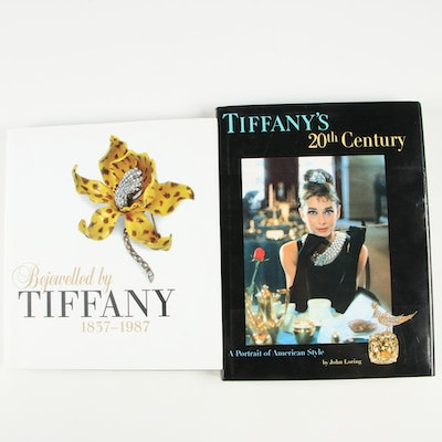 """""""Tiffany's 20th Century"""" and """"Bejewelled by Tiffany 1837-1987"""" Jewelry Books"""