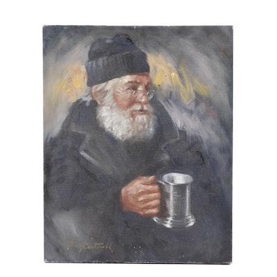 Greg Cartmell Oil Portrait