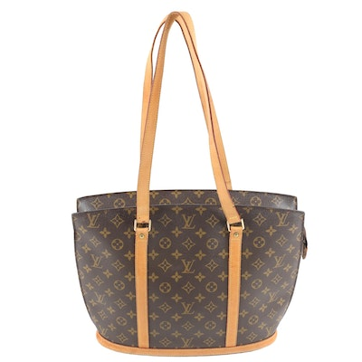 Louis Vuitton Paris Babylone Tote in Monogram Canvas and Leather