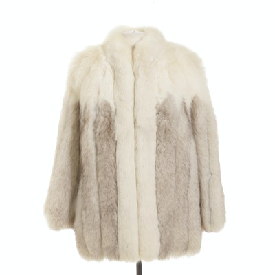 Fox Fur Coat from Horne's Fur Salon