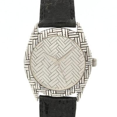John Hardy Sterling Silver Quartz Wristwatch