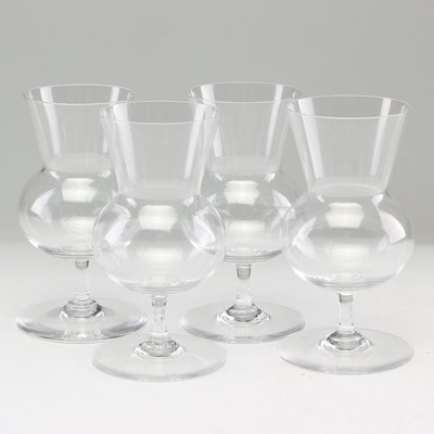 "Baccarat ""Thistle"" Brandy Glasses, 1960s-1970s Vintage"
