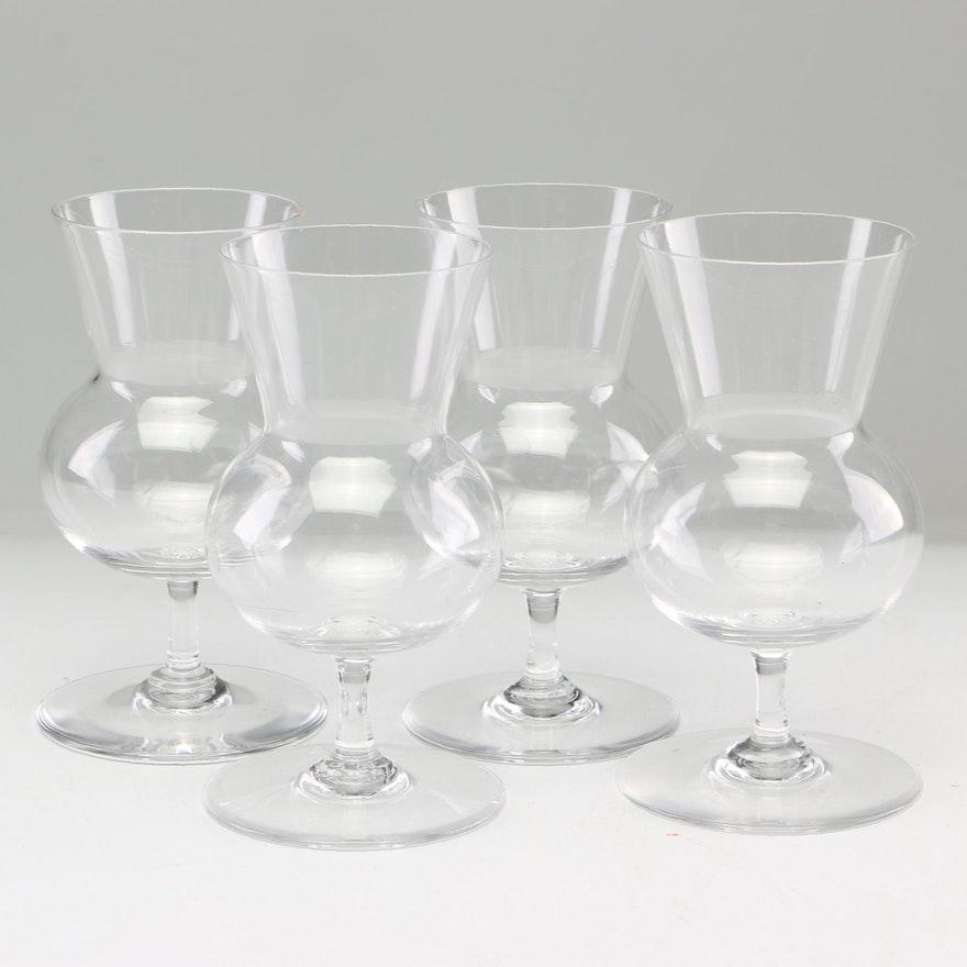 "Baccarat ""Thistle"" Brandy Glasses, 1960s-1970s Vintage"