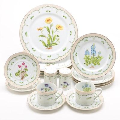 """Georges Briard """"Victorian Gardens"""" Porcelain Dinnerware Pieces"""