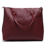 Gucci GG Supreme Canvas Burgundy Tote Bag, Vintage