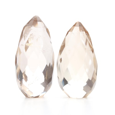 Loose 403.87 CTW Smoky Quartz Gemstones