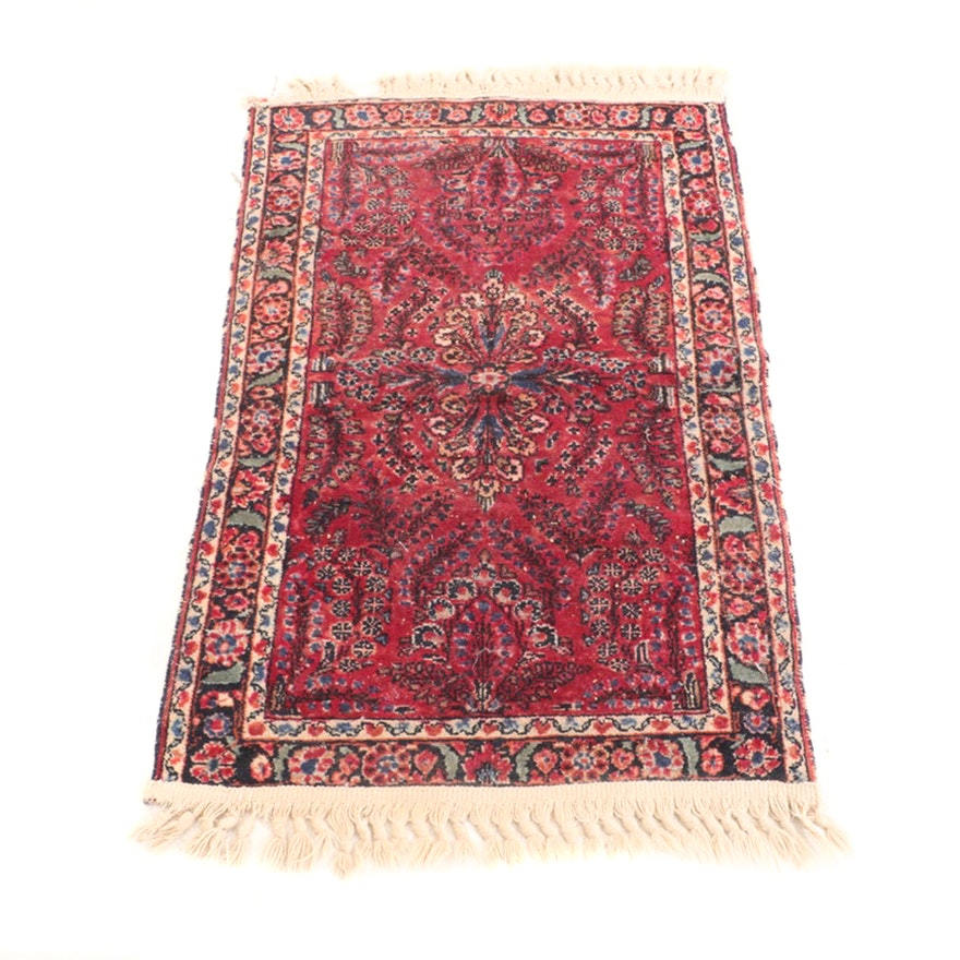 Hand-Knotted Persian Mehriban Wool Rug