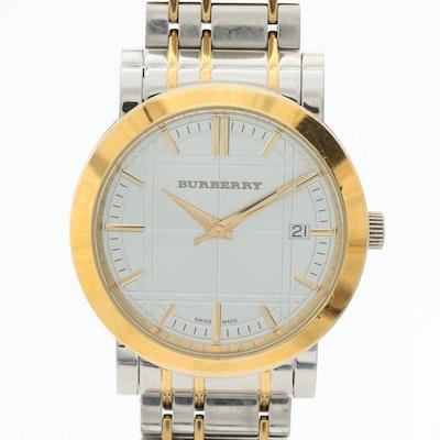 Burberry Heritage Two Tone Quartz Wristwatch