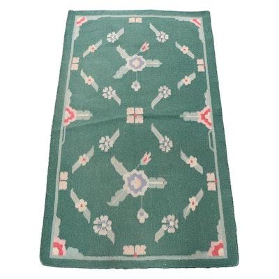 Handwoven Indian Wool Kilim Rug