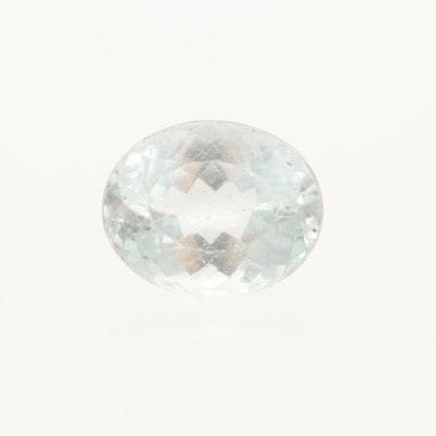 Loose 4.71 CT Aquamarine Gemstone