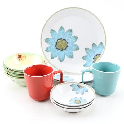 "Noritake Progression Dinnerware ""Up-Sa Daisy"" and More"